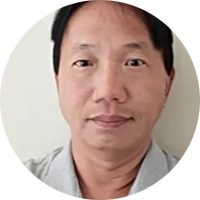 Foto do doutor Bobby Chang.