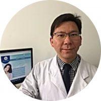 Foto do doutor Davi Chen Wu.